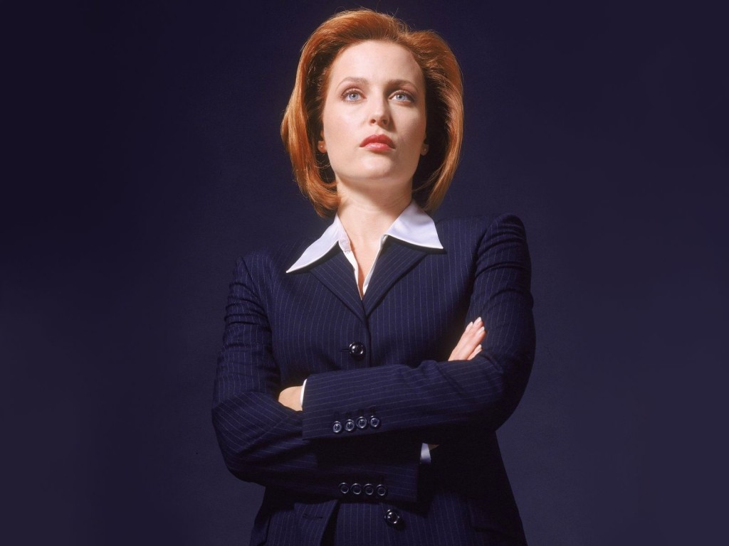 Dr. Dana Scully in the X-Files