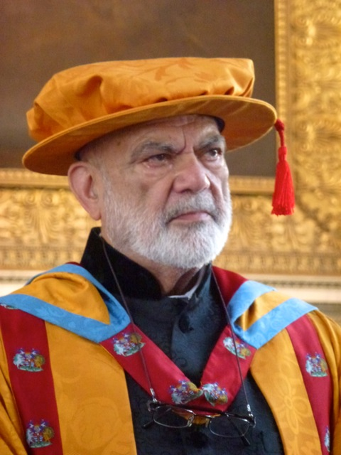 Greenwich University confers Honorary Doctor of Science upon Tariq Mustfa