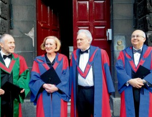 Ismail Serageldin receives honorary doctorate from Trinity College, Dublin, December 2009