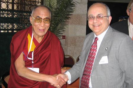 Ismail Serageldin with the Dalai Lama